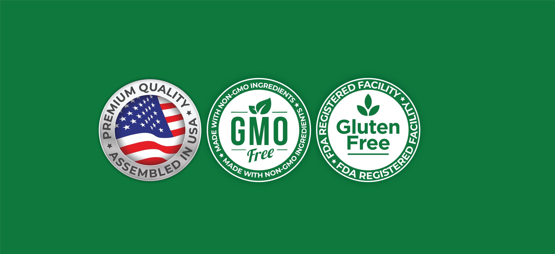 Quercetin 1000 mg - 200 Veg Caps (100% Vegetarian, Non-GMO & Gluten-free)