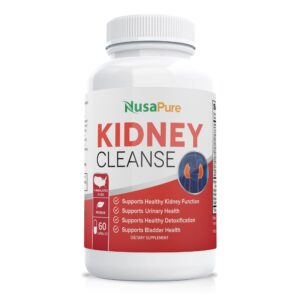 Kidney Support with Cranberry Extract (100% Vegetarian & Non-GMO)