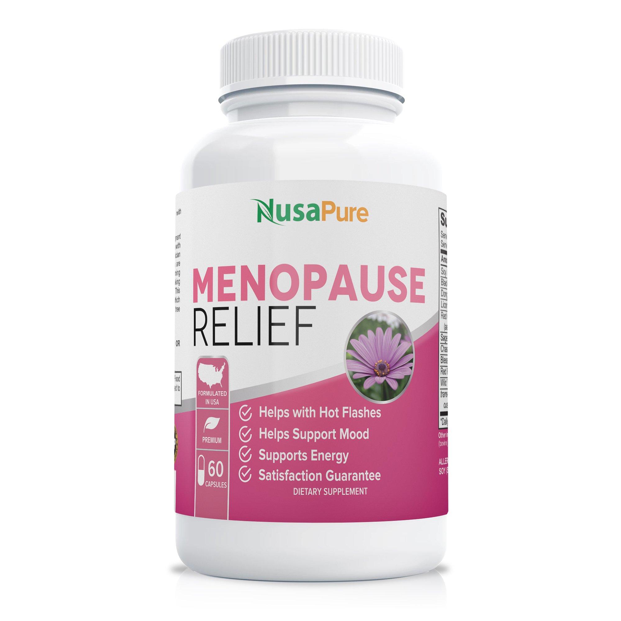 Menopause Relief & Support - 60 Caps (Non-GMO)